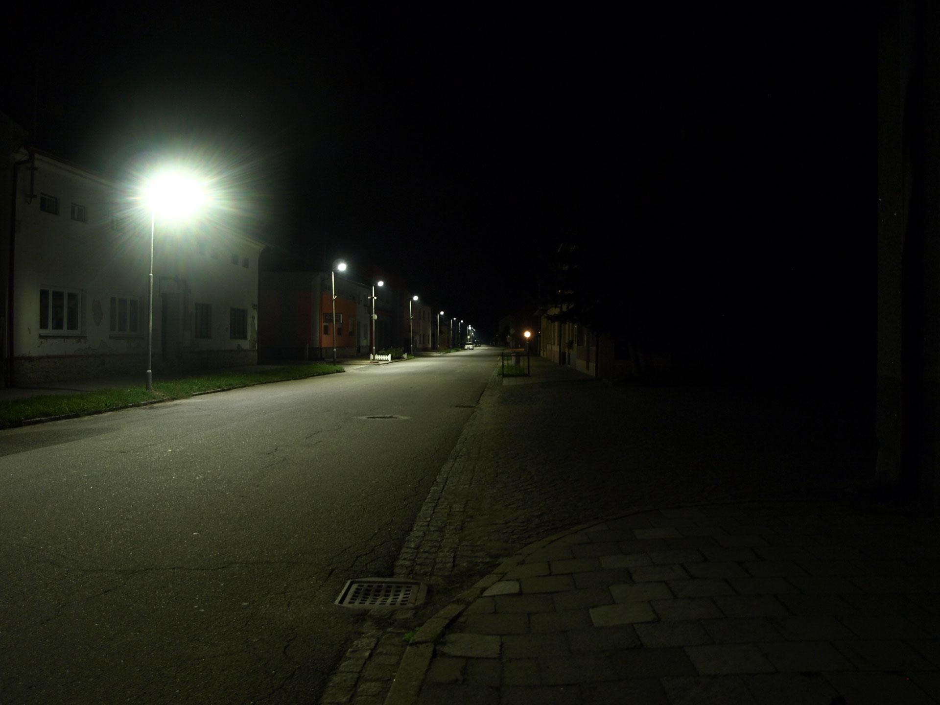Výměna veřejného osvětlení ve městě Chropyně