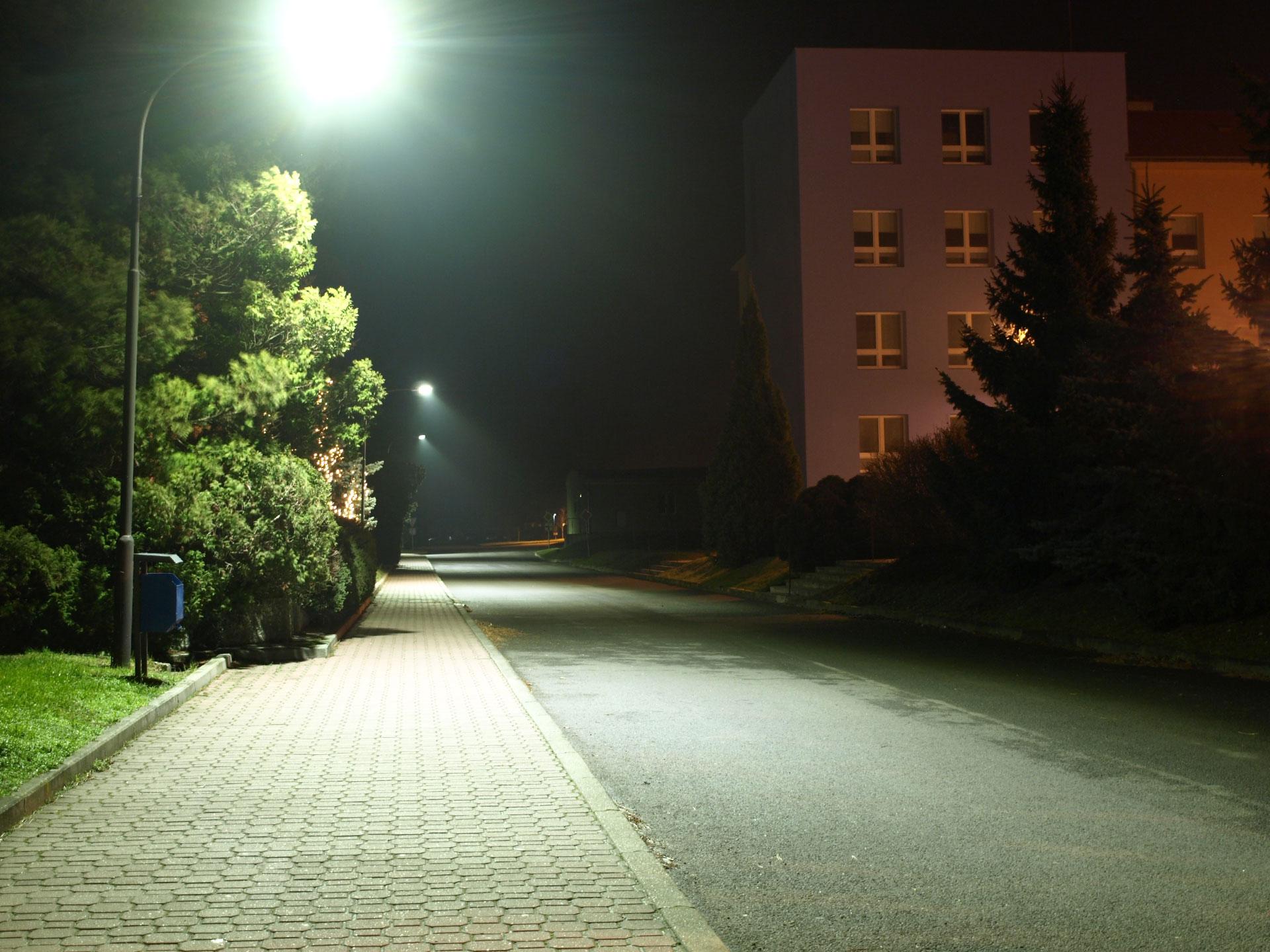 Výměna veřejného osvětlení ve městě Holešov