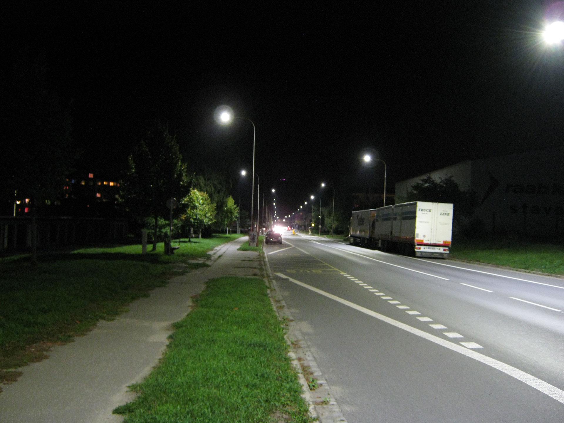 Výměna veřejného osvětlení ve městě Hulín