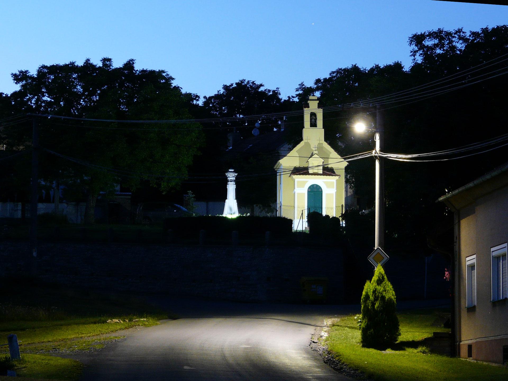 Výměna veřejného osvětlení v obci Korno