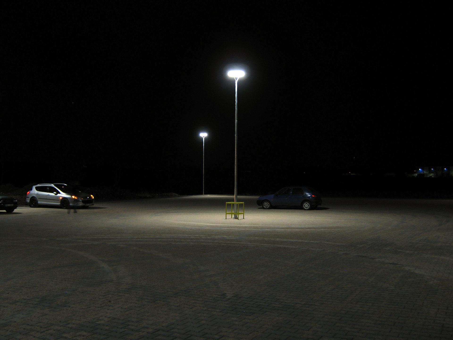 Výměna sadové osvětlení ve výrobním areálu společnosti Montix