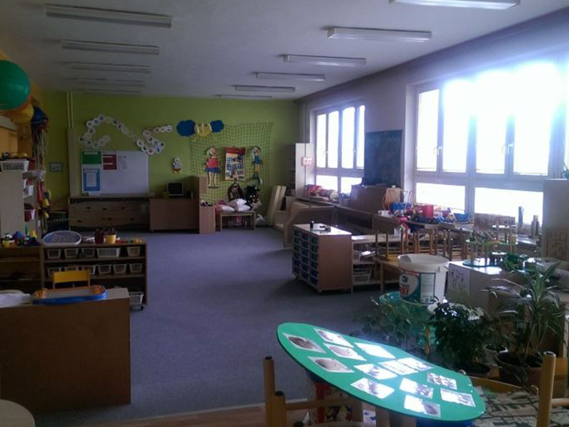 Instalace osvětlení v mateřské školce, Vizovice
