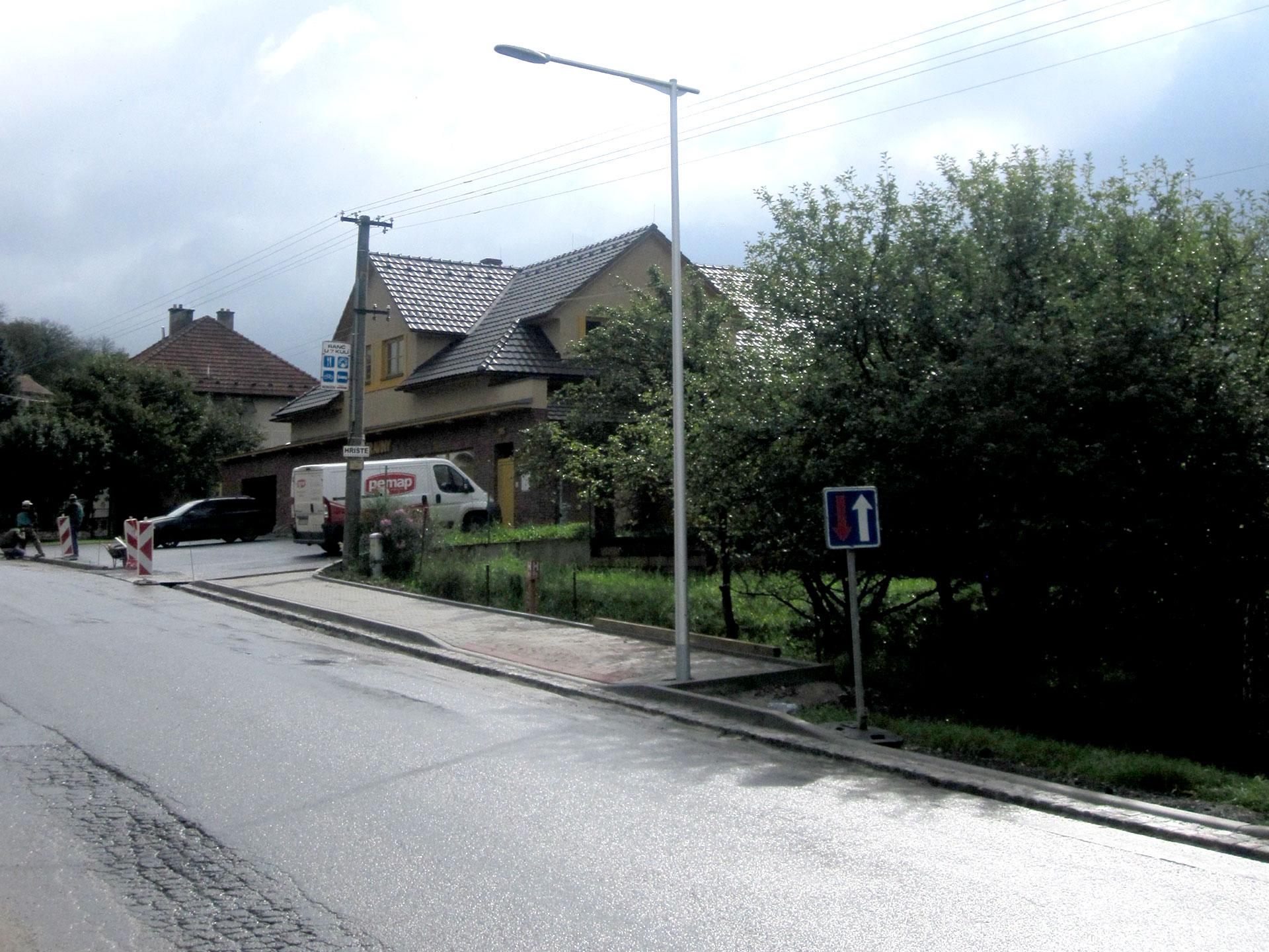 Výměna veřejného osvětlení v obci Nedašov