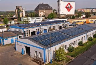 our manufacturing plant