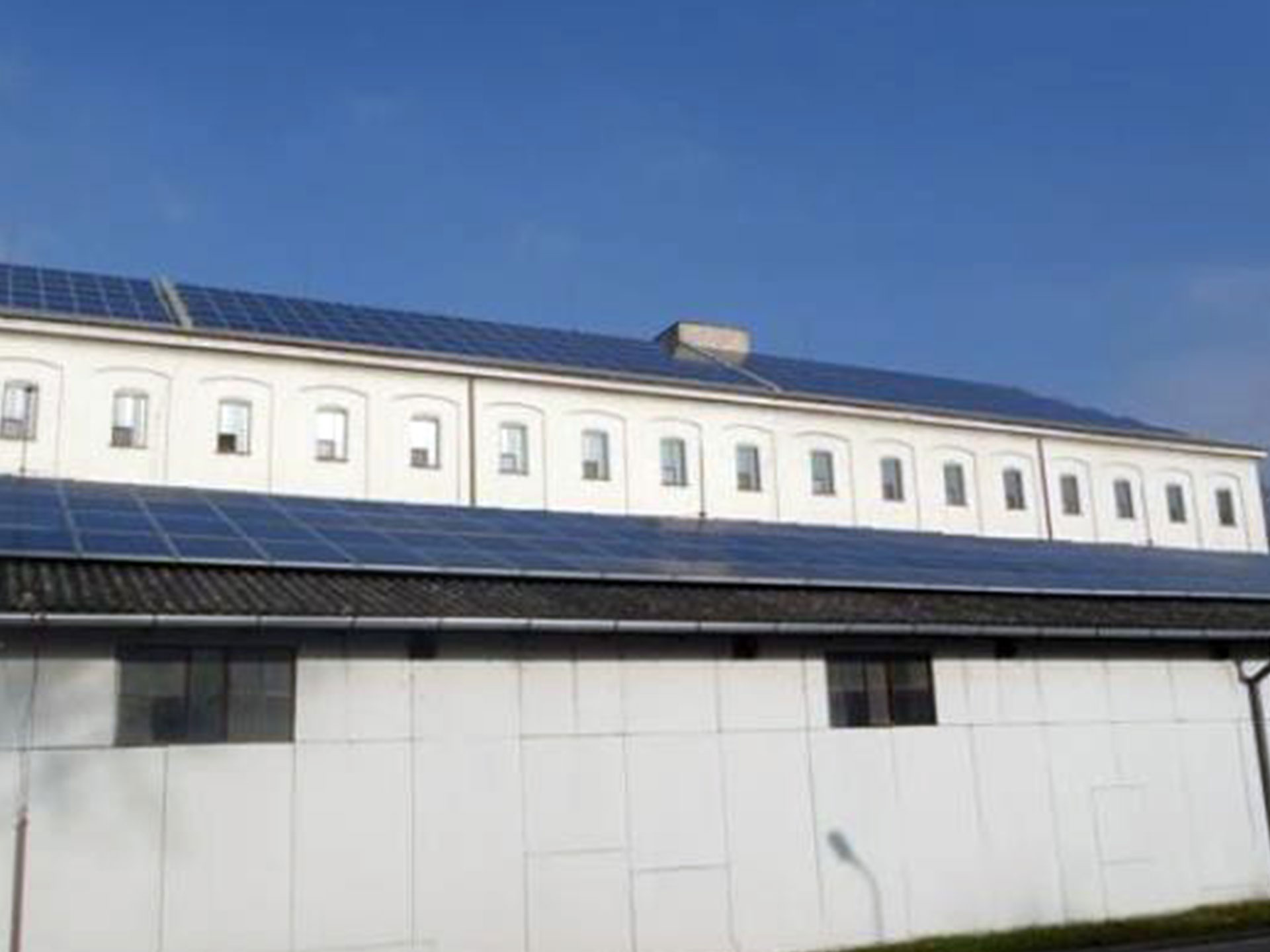 Production plant Hodonín (CR) - Installation of photovoltaic power plants with an output of 230 kW.